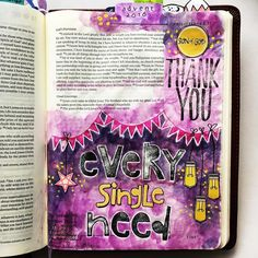Bible Journaling by @bibelinspiration