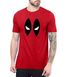 98dd863e713b9 Mens Red Pool 2 Shirt - Superhero Merchandise