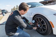 Ahh the black art of tyre pressures! In motor racing circles, up at the sharp end where championships are at stake, tyre pressures are a closely guarded secret – just ask our co-founder, Stephen… http://trackdays.ie/track-day-tyre-pressures-set/  Tags:
