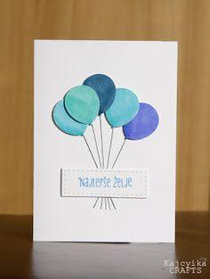 Kajcyika: Najlepši par - blue baloons