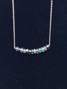 Items similar to tourmaline necklace silver chain goldplate quartz necklace on Etsy Quartz Ring, Quartz Necklace, Silver Chain Necklace, Silver Necklaces, Arrow Necklace, Black Diamond Jewelry, Tourmaline Necklace, Swarovski Jewelry, Stone Jewelry