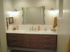 ikea floating bathroom vanity using kitchen cabinets woodworking projects u0026 plans