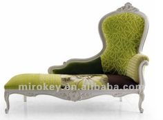 Antique White Traditional Wood Furniture Sofa Chaise Lounge With Spanish Influence Design of Living Room Chaise Sofa, Wingback Chair, Sofa Furniture, Living Room Furniture, Victorian Couch, Living Room Designs, Accent Chairs, Spanish, Lounge
