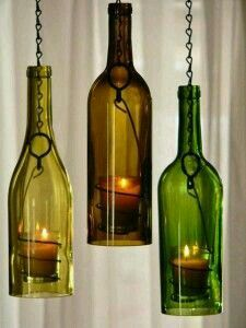 Bourbon house ventilatore pinterest bourbon and house bottle light chandelier homemade mozeypictures Gallery