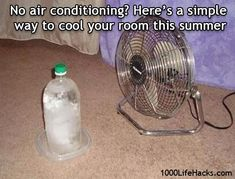No Air Conditioning? Shut up... I have to see if this works.  I will need this for the next month...