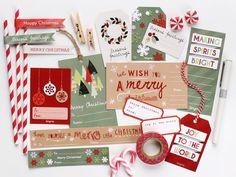 Weihnachts printables