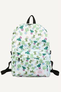 Cactus Prints Backpack
