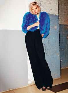 Inside the wardrobe of Sunflower Bean's Julia Cumming via Vogue Paris | modeandmaison.wordpress.com