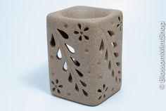 Ceramic Oil Burner/Ceramic Oli Warmer Flower by BlossomMintShop, $18.99