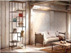 loft lakberendezés Loft Design, Wabi Sabi, Rustic Furniture, Industrial Design, Vintage Designs, Divider, Minden, Bb, Room