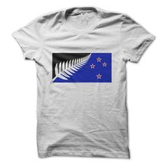 The Silver Fern Flag! - #tshirt drawing #hoodie fashion. PURCHASE NOW => https://www.sunfrog.com/Political/The-New-New-Zealand-Flag.html?68278