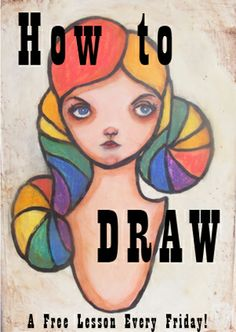 """The """"How to Draw"""" Series, Part Six: Embracing Your Unique Drawing Style and Non-Dominant Hand Drawings"""