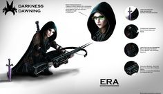 ERA: Character Concept by xynode.deviantart.com on @deviantART