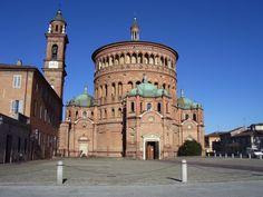 Basílica de Santa Maria della Croce, Crema. - Giovanni Battagio.
