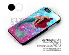 Pink Sparkle Mermaid case for iPhone 4/4S/5 iPod 4/5 Galaxy S2/S3/S4 | FixCenter - Accessories on ArtFire