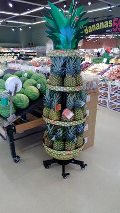 found this while out doing store audits Pop Display, Display Design, Store Design, Booth Design, Banner Design, Produce Displays, Fruit Displays, Merchandising Displays, Store Displays