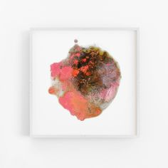 Technicolour beat | Mariëtte Kotzé |  Pink + Coral Abstract | Giclée print | Limited Edition Technicolor Beat, Colorful Clouds, Ink Wash, Paper Dimensions, White Ink, Macro Photography, Giclee Print, Fine Art Prints, Abstract