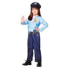 Toddler Kids' Photoreal Policeman Costume