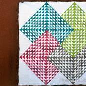 Illusions Quilt - via @Craftsy