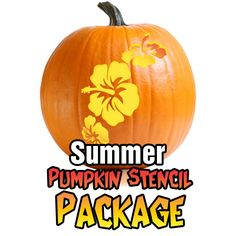 hibiscus pumpkin carving patterns - Google Search