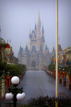 Downpour at the Magic Kingdom