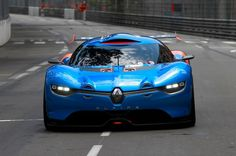 Renaultsport has merged the stunning DeZir concept car with the Megane Trophy racer to celebrate 50 years of the Alpine A 110 Berlinette. The result is this, the 395bhp V6-powered Renault Alpine A 110-50 concept car