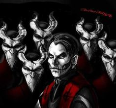 Concept art for Papa Emeritus IV and Nameless Ghouls Credits: Randi Laing