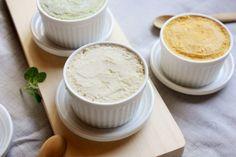 ライスアイスクリーム ・無農薬の玄米ごはん(または白飯)・・・・130g ・無調整豆乳   ・・・・・400cc ・バニラエクスラクト・・少々 ・メープルシロップ   ・・・・適量  ※バニラビーンズを入れると、さらに美味しいバニラアイスクリームになります。 ※豆乳の代わりにライスミルクでも。 ご飯は玄米でも白米でも、残りものを使用してOK.