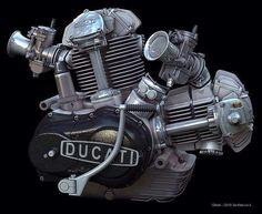 Second best looking engine :) Ducati