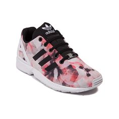 Step into floral flair with the new ZX Flux from adidas! This throwback running shoe style from the 80's is coming back with a modern look that delivers, featuring hibiscus printed textile uppers with rubber moulded heel cage for stability and signature adidas side stripes. Available for shipment in June; Pre-order yours today!
