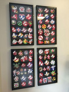 A patch collection of Ghost Corps groups from across the country. These are folks there is no retreating the costumes and gear of Ghostbusters.