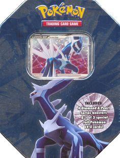 2008 Pokemon Cards Dialga Level X LV. X Spring Tin