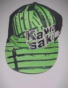 Kawasaki Accessories Adult Unisex Green Black Baseball Cap Hat One Size New  NWT  Kawasaki   420a9878dbd9