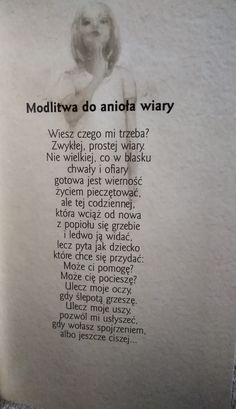 Modlitwa do anioła wiary Better Life, Love Life, Motto, Positive Quotes, Prayers, Faith, Positivity, Thoughts, Words
