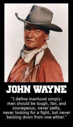 Enjoy the best John Wayne quotes. Famous Quotes by John Wayne, American Actor. Tomorrow is the most important thing in life. It's perfect when it arrives and it puts itself in our hands. Great Quotes, Quotes To Live By, Me Quotes, Inspirational Quotes, People Quotes, Qoutes, Lyric Quotes, Motivational, Quotations