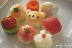 mini sushi