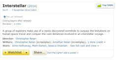 premiera 07-11-2014  http://www.imdb.com/title/tt0816692/?ref_=nv_sr_1
