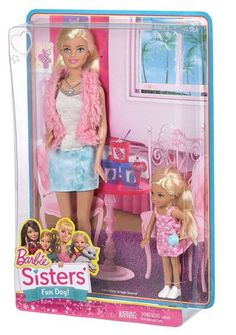 Shop for Barbie dolls and toys and find fab fashions, playsets and fashion dolls. Browse Barbie dolls and toys sparkling with pinktastic fun in the Barbie toys collection including dollhouses, Barbie& Dreamhouse, fashions and doll accessories. Barbie Sets, Mattel Barbie, Barbie And Ken, Barbie Stacie Doll, Barbie Chelsea Doll, American Girl Doll Hospital, Baby Play House, Barbie Puppy, Disney Characters Costumes