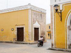clubmonaco:Riding through The Yellow City; Izamal, Mexico.