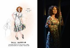 Bull Durham the musical (Annie). Costume design by Toni-Leslie James.