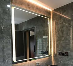 bathroom led mirror 24x36inch Decor, Led, Wall, Home Decor, Mirror Wall Bathroom, Led Mirror, Mirror Wall, Mirror, Bathroom Wall