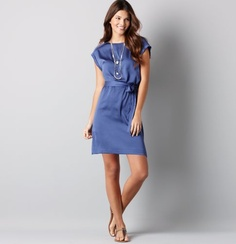 Hannah tie waist dress.  Wearing this to a beach wedding in June.  I'm obsessed with this color!