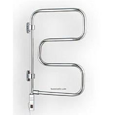 WarmlyYours Element 4-Bar TW-E4PCP W/ Pivot Electric Towel Heater