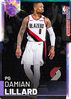 Custom Cards - 2KMTCentral Basketball Quotes, Basketball Leagues, Basketball Pictures, Basketball Cards, College Basketball, Nba Basket, Nba Live, Damian Lillard, Player Card