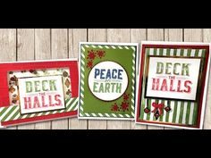 Carols of Christmas Matchbook Gift Card Holder with the Envelope Punch Board - YouTube