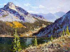 Donald Neff - Tioga Lake, 12x16, oil on board, plein air, $250