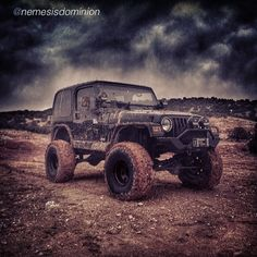 Jeeps are so Purdy when they are Dirty
