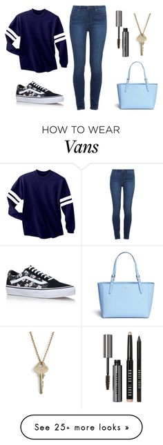 """""""Untitled #115"""" by superwoman8648 on Polyvore featuring The Giving Keys, Vans, Bobbi Brown Cosmetics, Tory Burch and Paige Denim"""