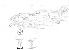 vento carezza capelli freddo cagnolino