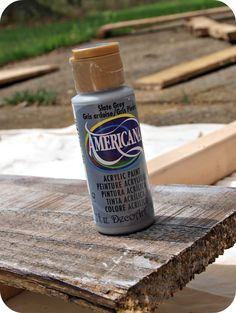 How to age wood with paint